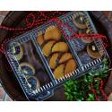 Vánoční čajové pečivo bez lepku 350g - bez laktózy - modré Jordans