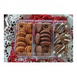 Vánoční čajové pečivo bez lepku 350g - červené Jordans