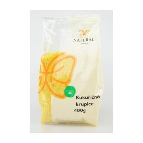 Krupice kukuřičná bez lepku - Natural 400g