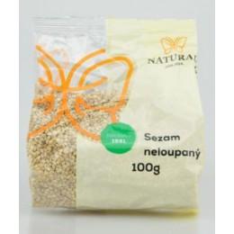Sezam neloupaný 100g Natural