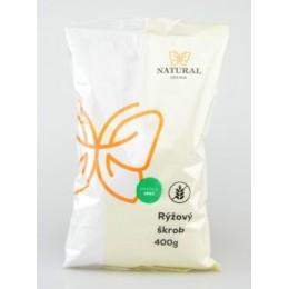 Rýžový škrob bez lepku - Natural 400g