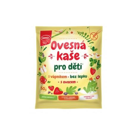 Ovesná kaše pro děti s vápníkem a ovocem bez lepku 50 g