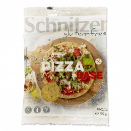 Korpus pizzy s bylinkami bez lepku 100g Bio Schnitzer
