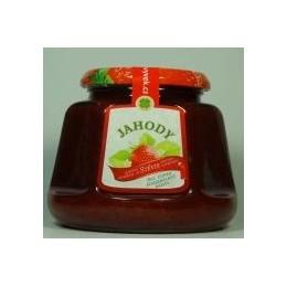 Džem jahody s konopím a výtažkem ze stévie sladké 360g