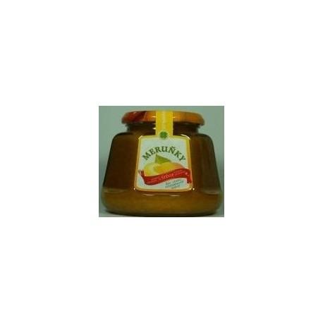 Džem meruňky s konopím a výtažkem ze stévie sladké 360g