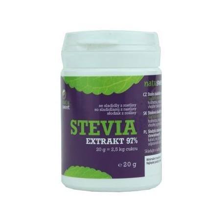 Stevia extrakt 97% - Natusweet 20g