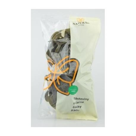 Těstoviny z černé čočky - Natural 230g