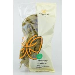 Těstoviny ze zelené soji mungo - Natural 230g