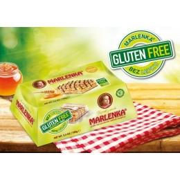 Bezlepkový medový dortík MARLENKA® s vlašskými ořechy 100g