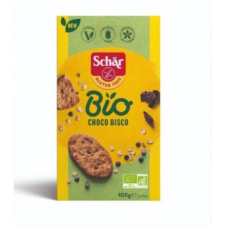 Choco bisco bio 105g SCHAR bez lepku