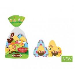 Velikonoční balíček hořké čokolády - vajíčka bez cukru 100g