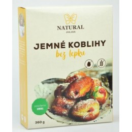 Jemné koblihy bez lepku - Natural 360g