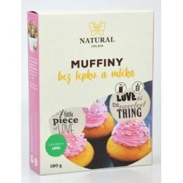 Muffiny s kokosovou moukou bez lepku a mléka - Natural 180g