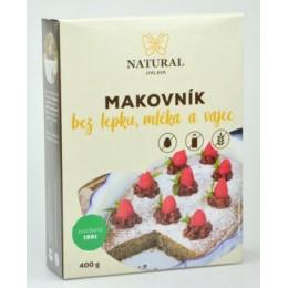 Makovník bez lepku, mléka a vajec - Natural 400g