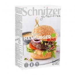 Housky Hamburgerové bez lepku 125g (2x Hamburger Buns ct 8) SCHNITZER