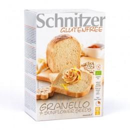 Bio chléb slunečnicový bez lepku 500g SCHNITZER