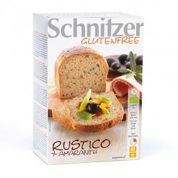 Bio chléb Rustico amarantový bez lepku 500g SCHNITZER