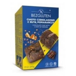 Bábovka čokoládová s pomerančem, bez lepku 245g BEZGLUTEN
