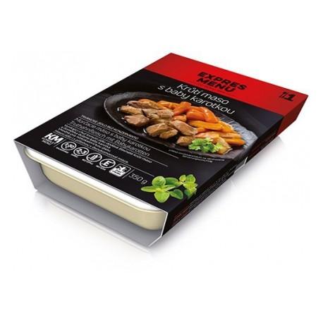 Krůtí maso s baby karotkou 350g Komplet Menu