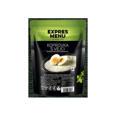 Koprovka s vejci 2 porce 600g Expres Menu