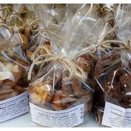 Sušenky bez lepku a dia trvanlivé - Mix 100g Celozrnná pekárna