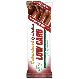 LOW CARB čekanková tyčinka čokoláda 35g 4Slim