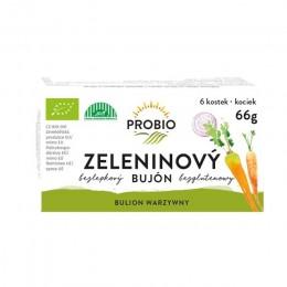 Bujón zeleninový - kostky 6 x 0,5 66 g BIO PROBIO
