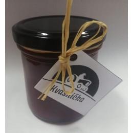 Malinový džem pasírovaný s čekankovým sirupem 165 g bez přidaného cukru Kvasnička