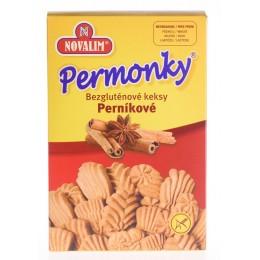 PERMONKY – perníkové sušenky bez lepku 150g Novalim