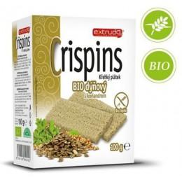 Crispins BIO křehký plátek dýňový bez lepku - Extrudo 100g