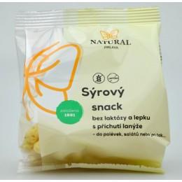 Sýrový snack s příchutí lanýže bez laktózy a lepku - Natural 30g
