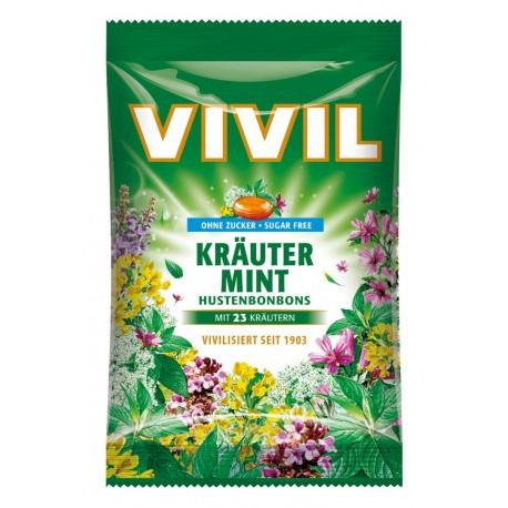 Bonbóny bez cukru - Vivil - bylinkový 75g