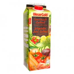 Zeleninová šťáva 1L WeserGold
