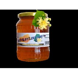 Med s bylinkami - luční s květem lípy 500g ZV