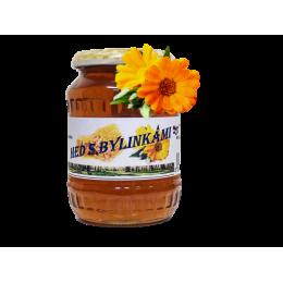 Med s bylinkami - lesní s květem měsíčku 500 g ZV
