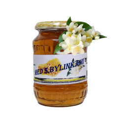 Med s bylinkami - luční s květem jasmínu 500g ZV