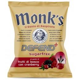 Balsamikové bonbony bez cukru Defend+ brusinky a lesní ovoce - Monk´s 46g