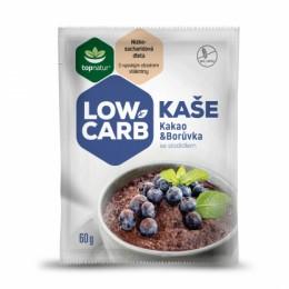 LOW CARB kaše kakao-borůvka porce 60g Topnatur