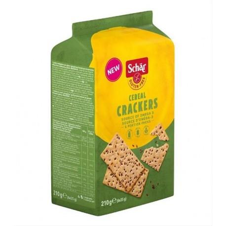 Crackers cereal 210g bez lepku Schar