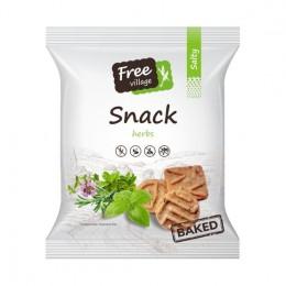 Slaný snack - bylinky 125g bez lepku Perník