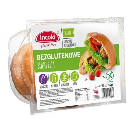 Pita chléb bez lepku 2x95g INCOLA