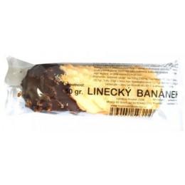 Linecký banánek polomáčený 50g bez lepku Perla