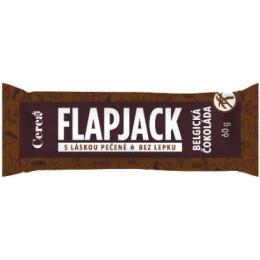 Ovesná tyčinka Flapjack Belgická čokoláda 60g CEREA