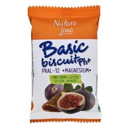 Basic biscuit - sušenky plněné fíkovou náplní bez lepku - Nature Line 50g