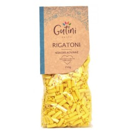 Rigatoni těstoviny 250g Nízkobílkovinné Gutini