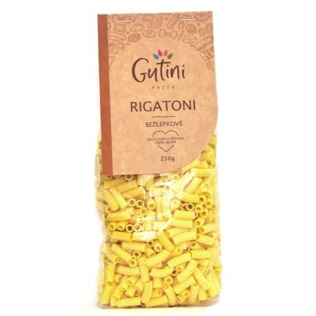 Rigatoni těstoviny 250g bez lepku Gutini