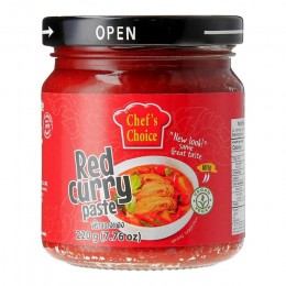 Chef's Choice Vegan Red Curry Paste (220G)
