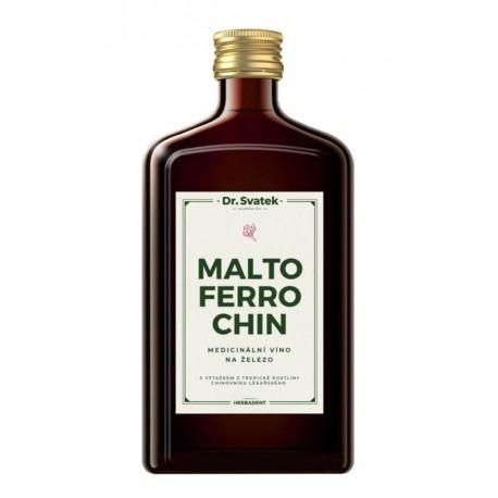 Maltoferrochin - železité víno 500 ml