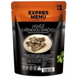 Hovězí s křenovou omáčkou 1 porce Expres Menu