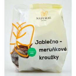 Jablečno - meruňkové kroužky bez lepku - Natural 150g